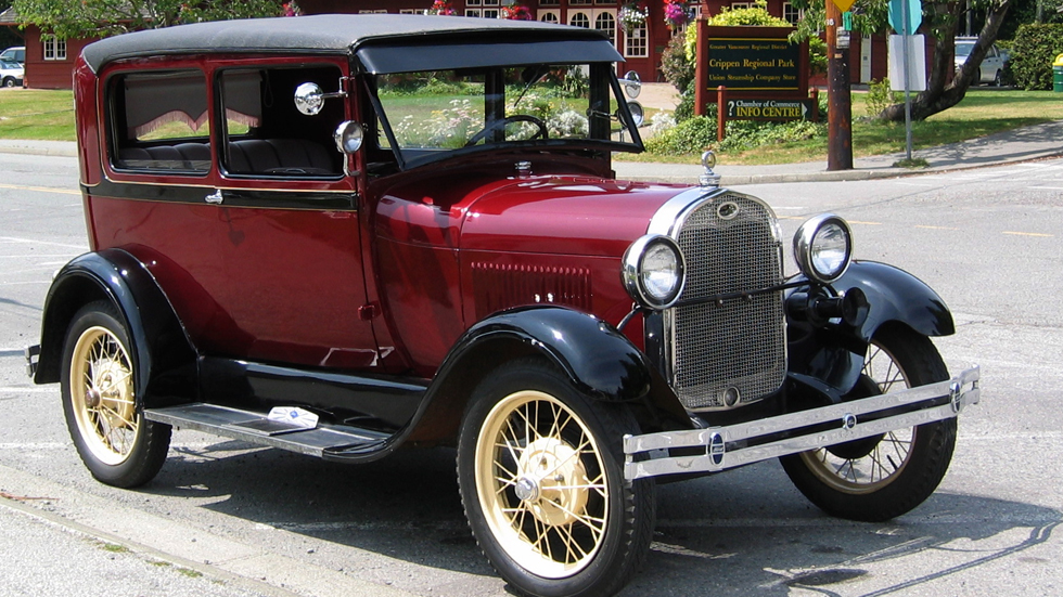 Un Ford de 1930 recorre EE.UU. de costa a costa