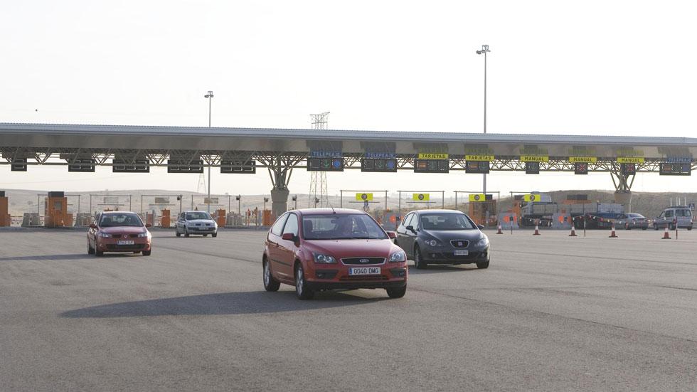 El uso de las autopistas de peaje, a niveles de 1997