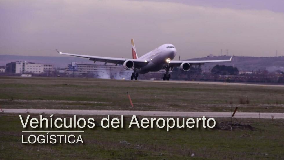 Vídeo: en las entrañas del aeropuerto, una ciudad para cientos de vehículos