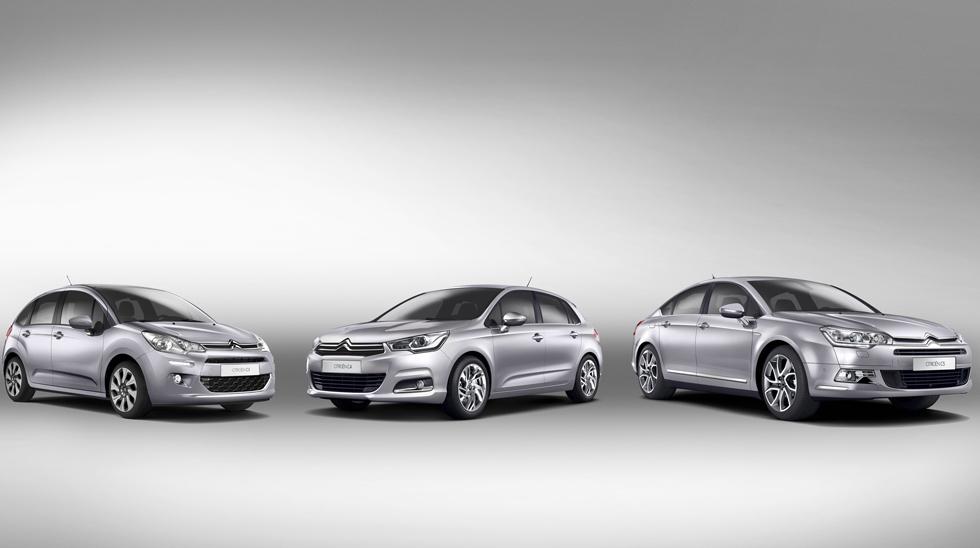 Ventas de coches: Citroën líder en un mercado que cae
