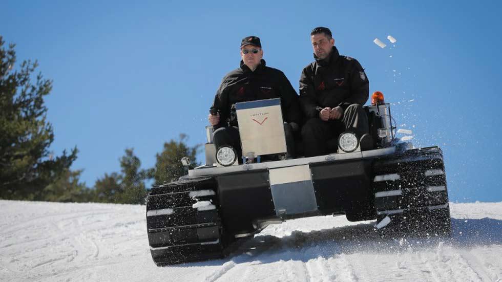 Venturi Antarctica, un eléctrico destinado al Polo Sur