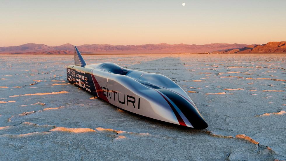 Venturi VBB-3, un eléctrico camino de los 600 km/h