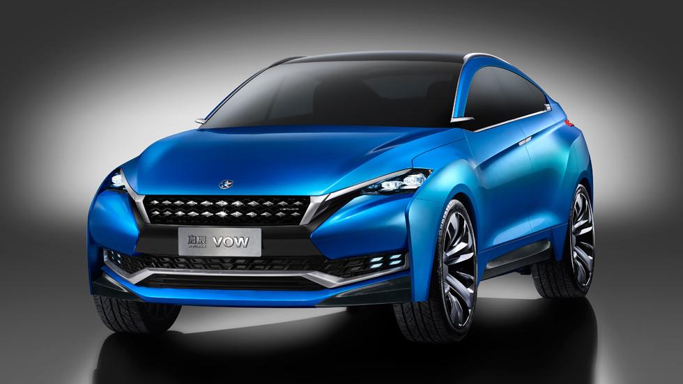 Venucia VOW Concept, el SUV de los jóvenes chinos