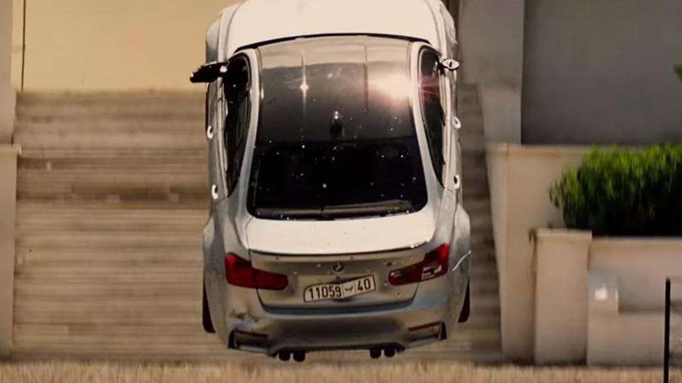 Vídeo: el BMW M3, protagonista en el tráiler de Misión Imposible 5