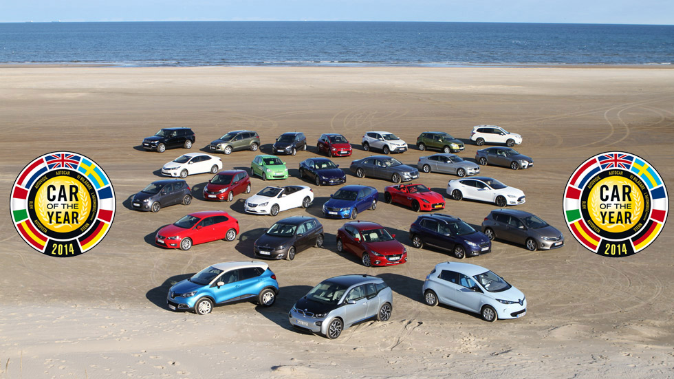 Vídeo: los aspirantes al Car of the Year 2014