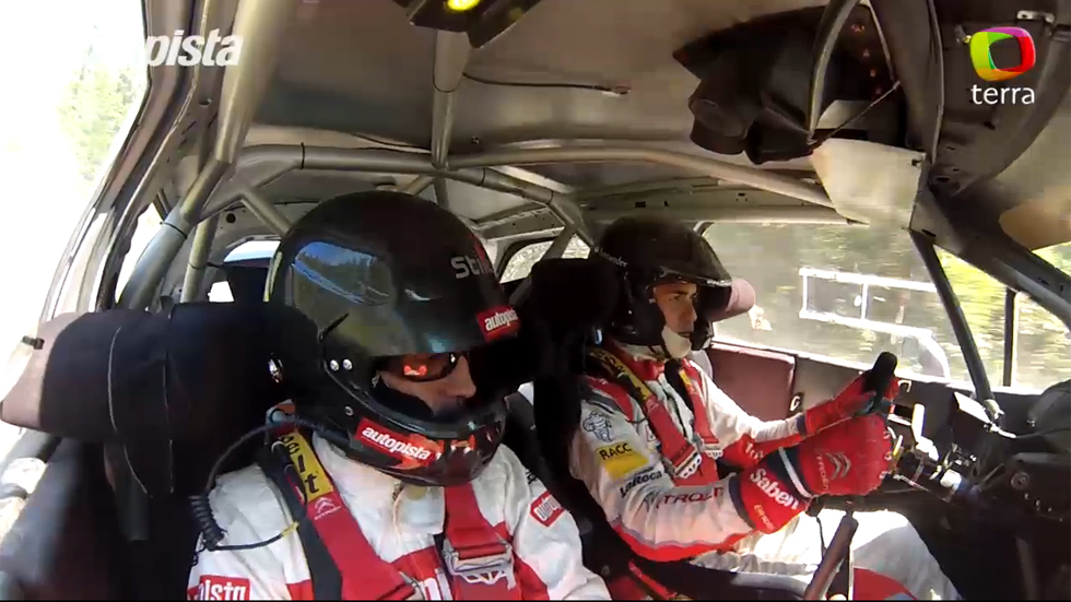 Vídeo: de copilotos con Dani Sordo, ¡adrenalina!