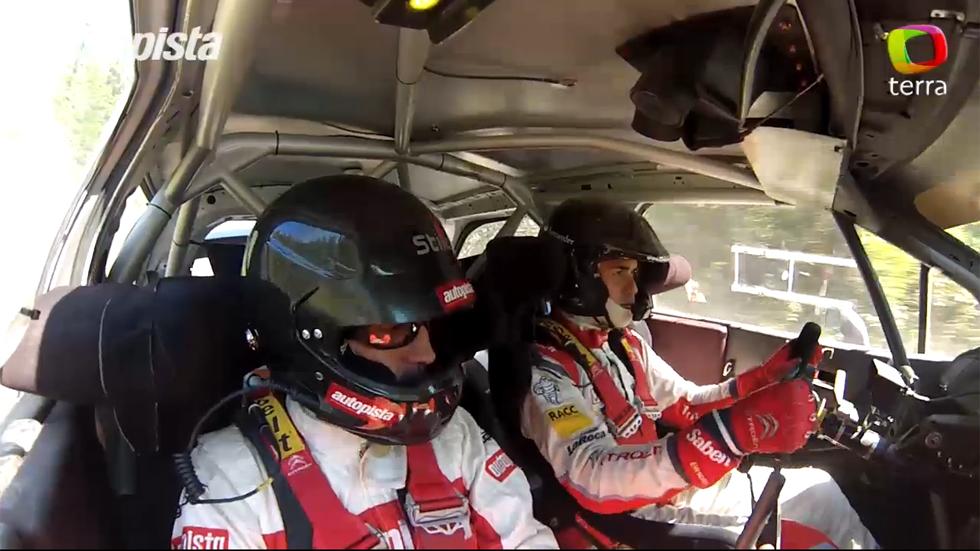 Vídeo: de copilotos con Dani Sordo, ¡adrenalina!