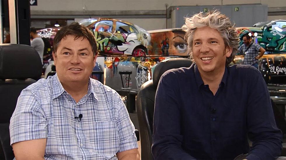 Vídeo: entrevistamos a las estrellas de 'Joyas sobre ruedas'
