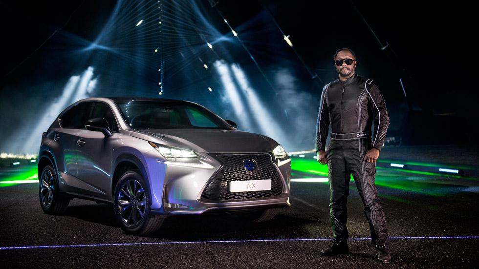 Vídeo: el Lexus NX, 'bailando' al ritmo de la música de Will.i.am