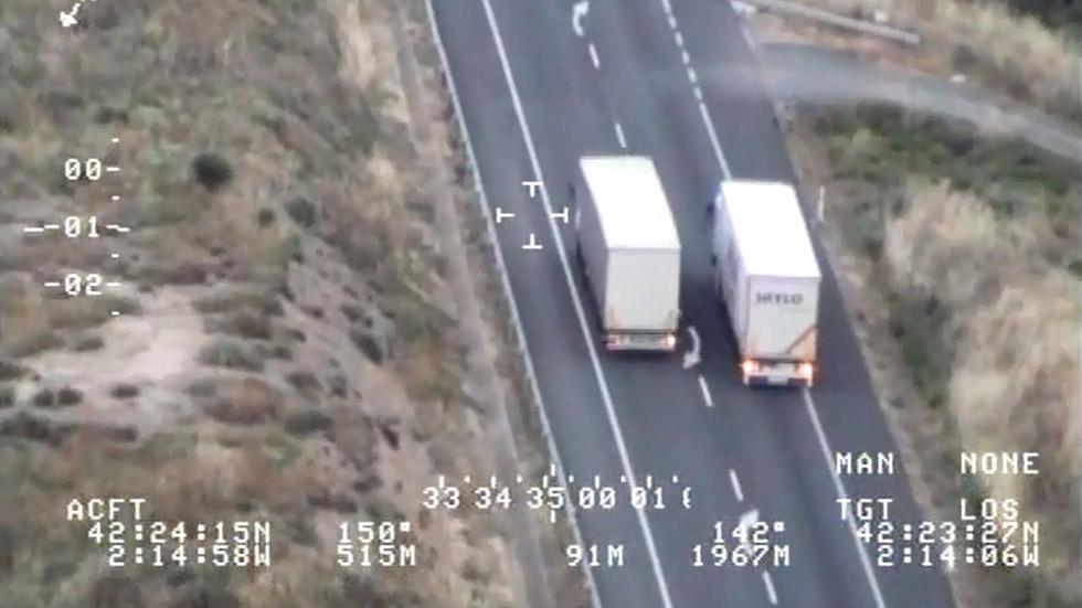 Vídeo: 5 locuras captadas por la DGT en carreteras secundarias