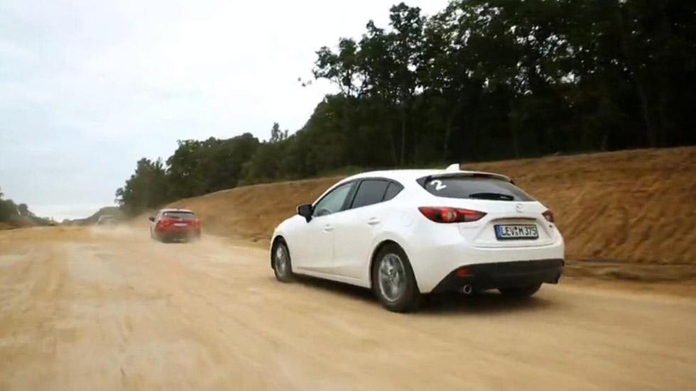 Vídeo: el nuevo Mazda 3, de ruta desde Japón hasta Alemania