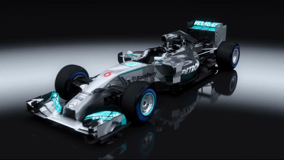 Vídeo: los F1 y los coches de calle de Mercedes, vidas paralelas