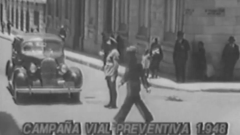 Videonoticia: así eran las campañas de seguridad vial hace casi 80 años