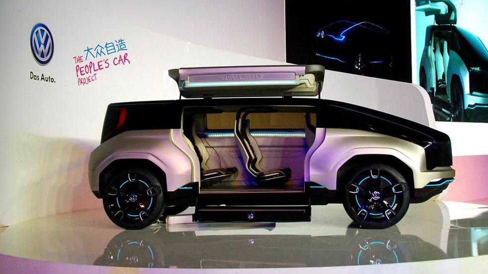 Volkswagen 4Fun Concept, ¿el monovolumen del futuro?