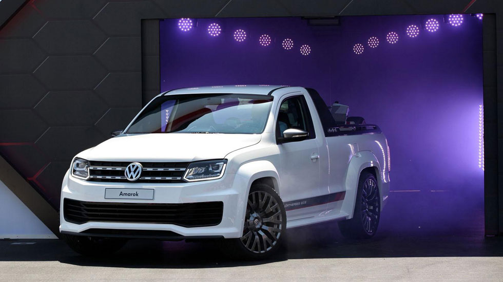 Volkswagen desvela en Wörthersee su Amarok Power Pickup Concept