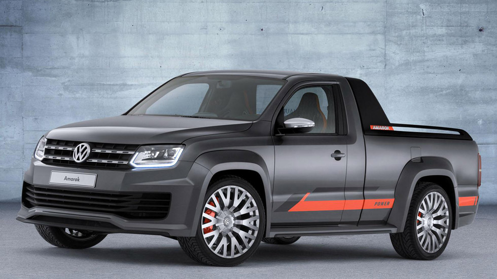 Volkswagen Amarok Power Pickup, la bestia de Wörthersee