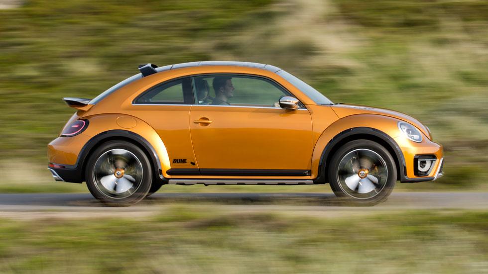 Volkswagen Beetle Dune Concept, del salón a las dunas