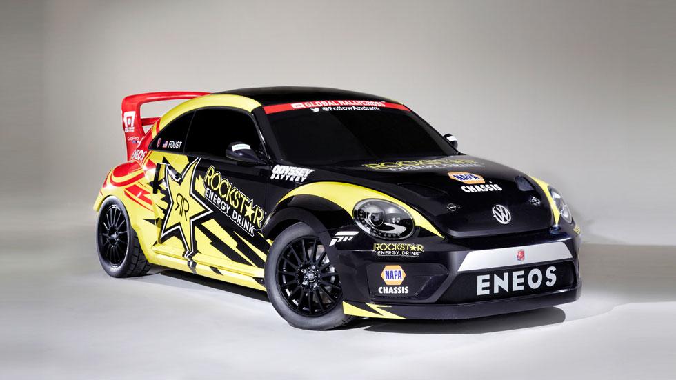 VW Beetle GRC Rallycross, el Escarabajo más bestia