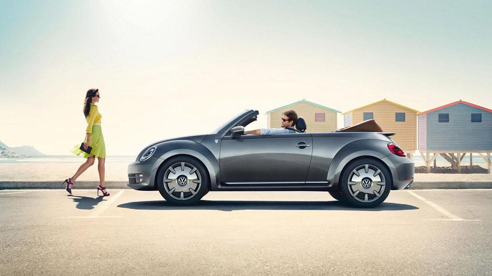 VW Beetle Cabriolet Karmann Edition, descapotable con solera