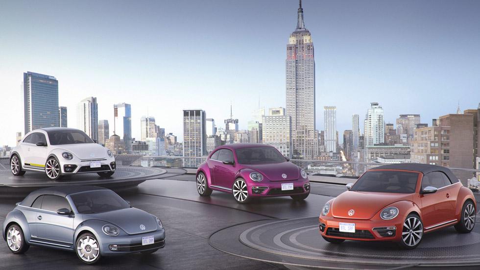 Los Volkswagen Beetle neoyorkinos, póker de versiones especiales