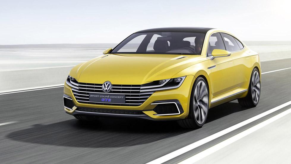 Volkswagen Sport Coupé Concept GTE , ¿el sustituto del CC?