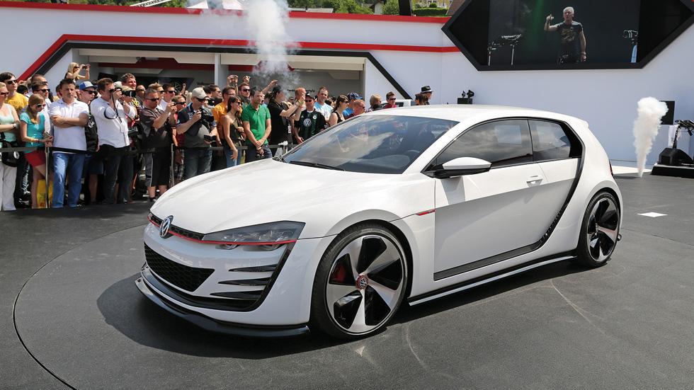 Volkswagen Design Vision GTI Concept, el Golf de los 503 CV