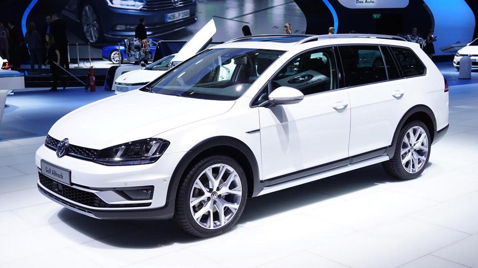 Volkswagen Golf Alltrack, un chico de campo