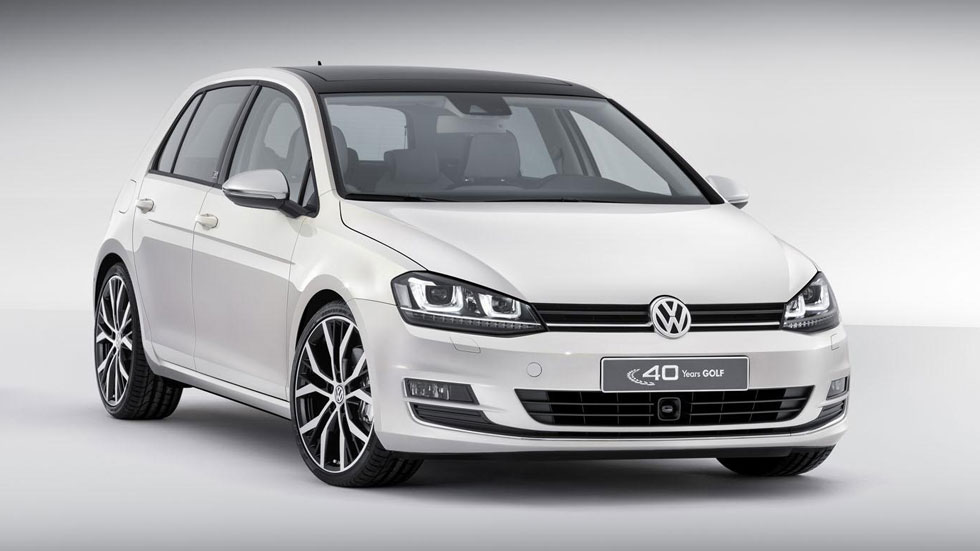 Volkswagen Golf Edition Concept, pura elegancia para el compacto