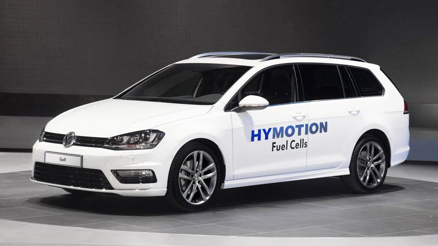 Volkswagen Golf Variant GS HyMotion: llámalo Golf de hidrógeno