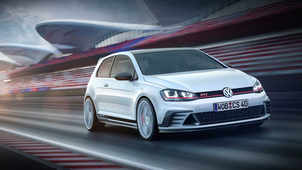 VW Golf GTI Clubsport Concept, vitaminado