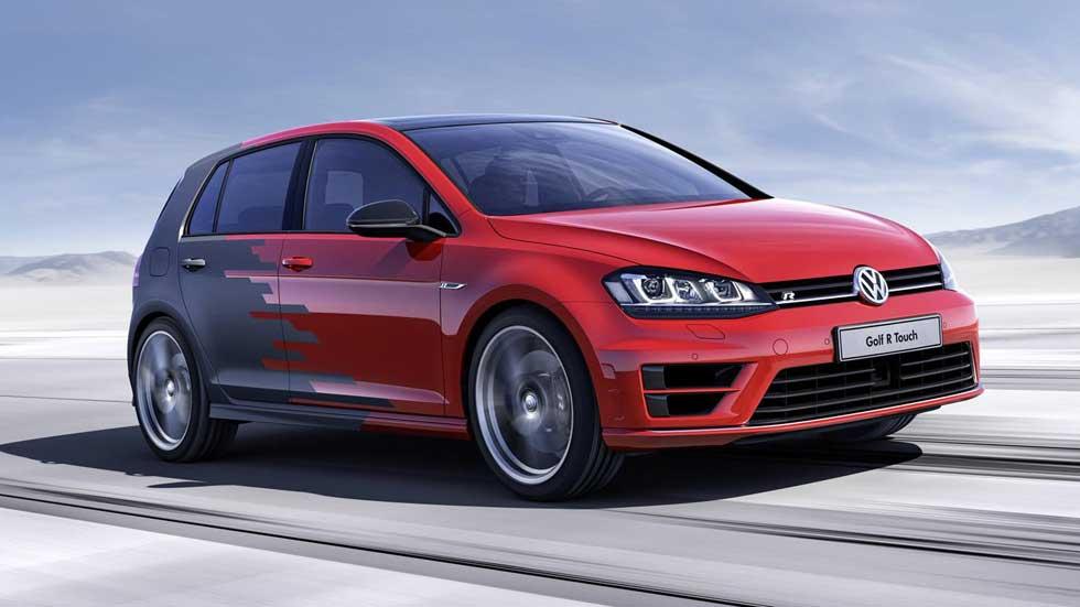 Volkswagen Golf R Touch, preparado para interactuar con el conductor del futuro