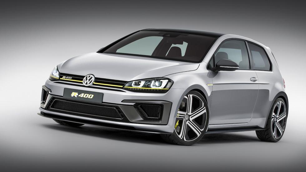 Volkswagen Golf R400, el Golf más potente