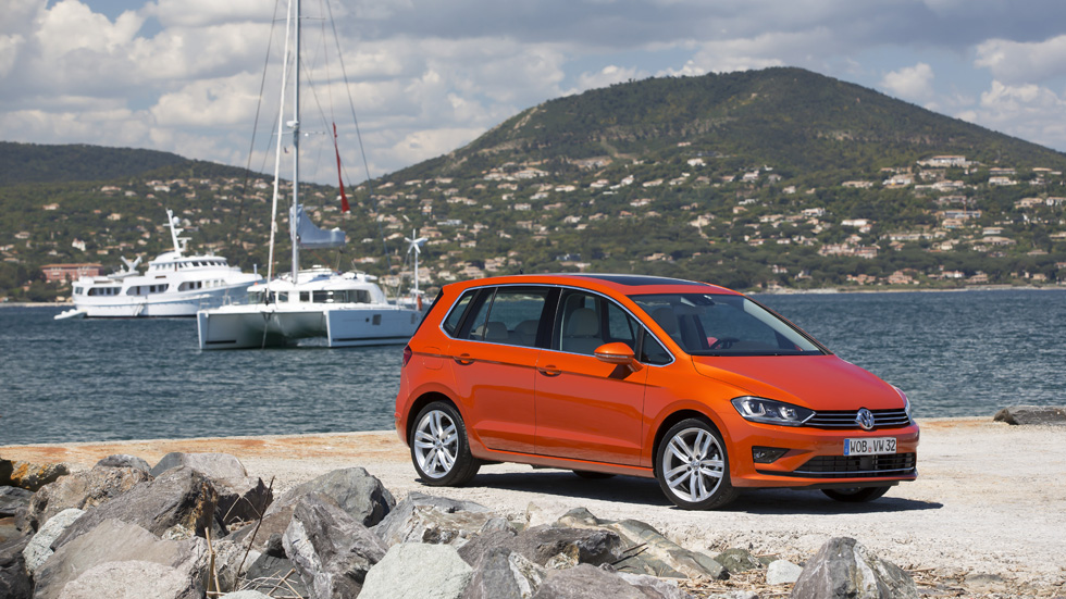 Contacto: VW Golf Sportsvan, 'ser y no ser' monovolumen