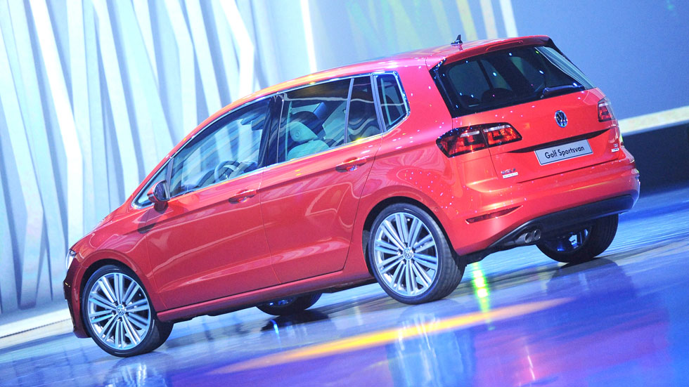 VW Golf Sportsvan: el sustituto del Golf Plus, a escena