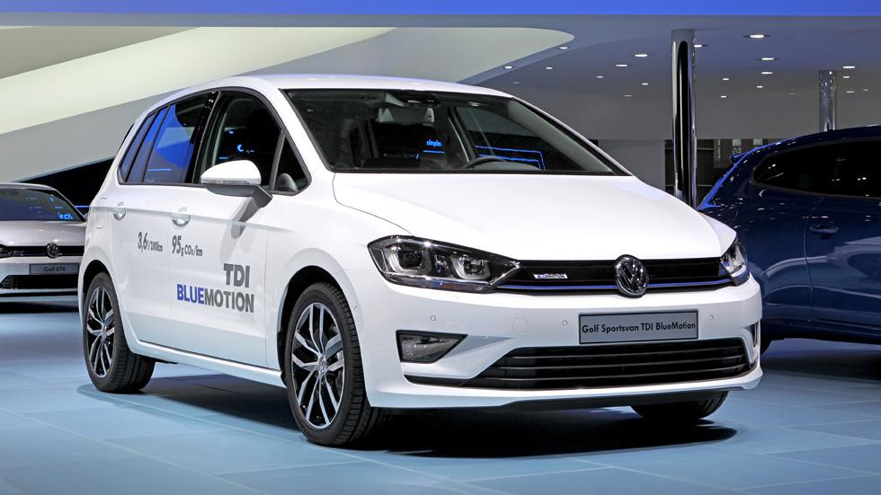 Volkswagen Golf Sportsvan TDI BlueMotion, sólo 3,6 l/100 km