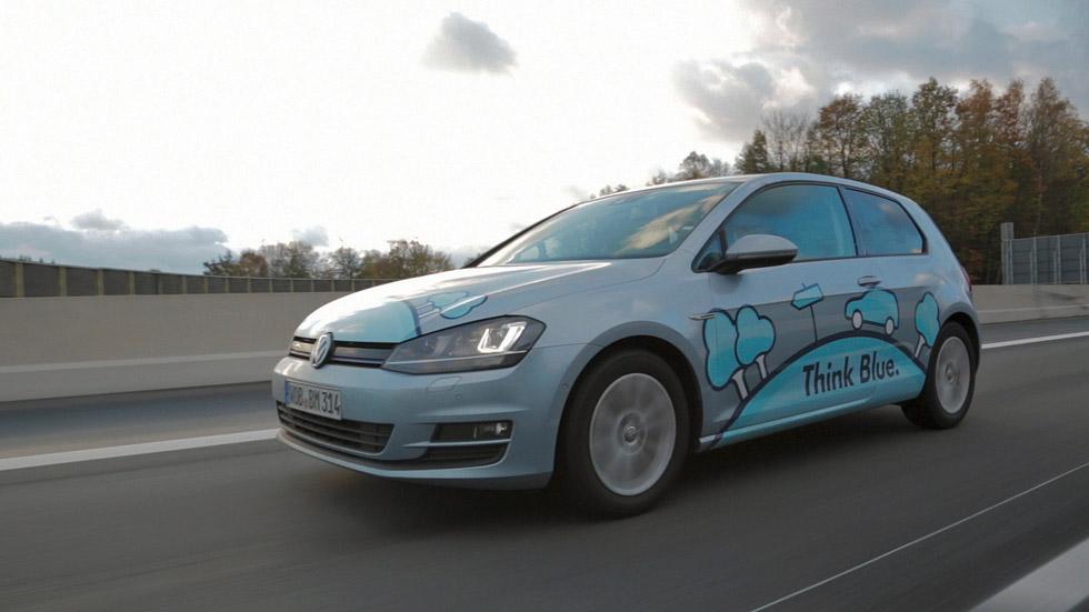 VW Golf BlueMotion: 2,92 l/100 km y un solo depósito