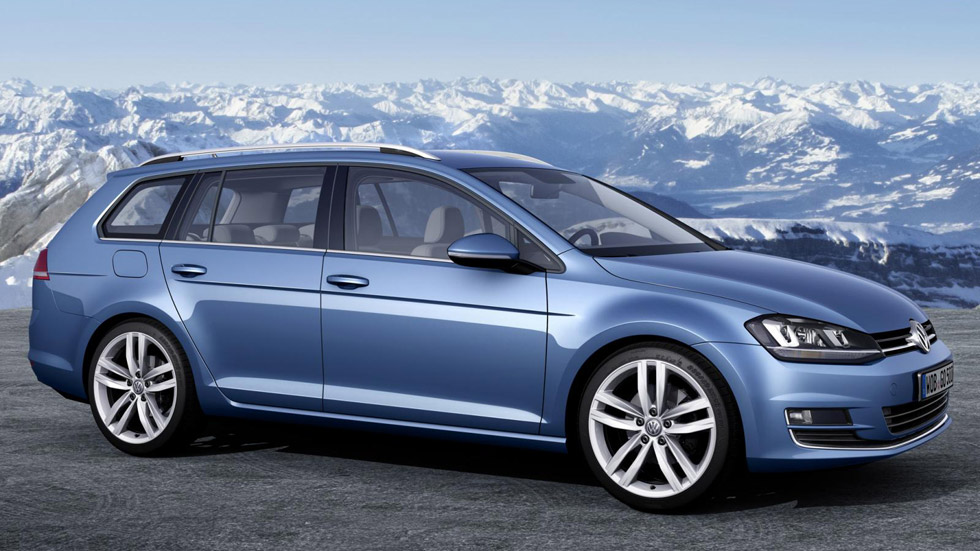VW Golf Variant 4Motion, tranquilidad familiar