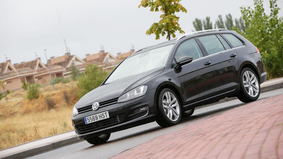 Prueba: Volkswagen Golf Variant 2.0 TDI 150 CV DSG, familiar con espacio