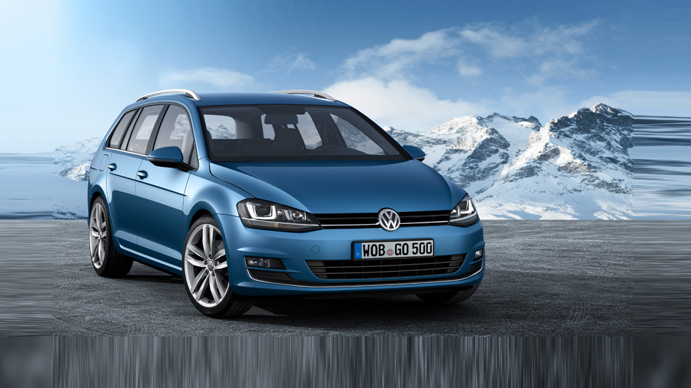 Volkswagen Golf Variant VII: turno para el familiar