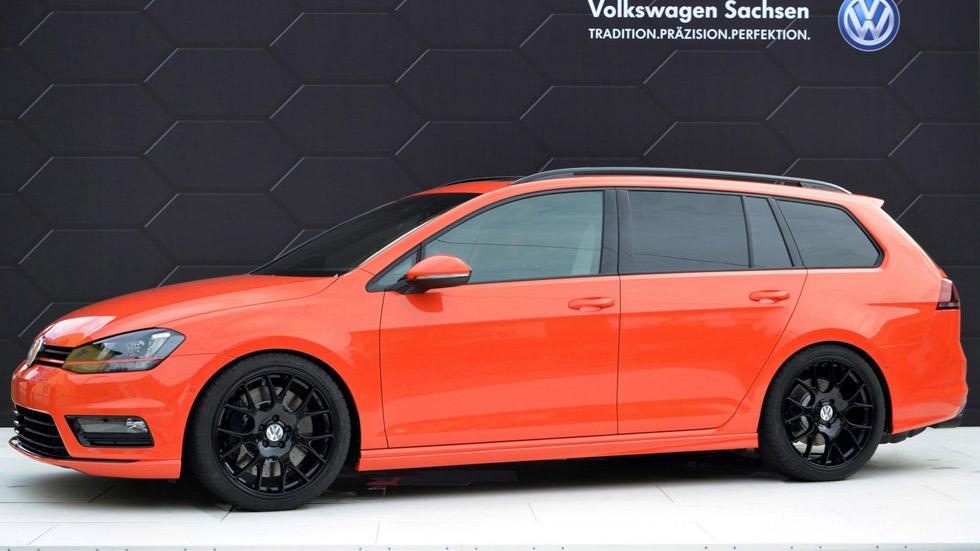VW Golf Variant Youngster 5000, para las familias más marchosas