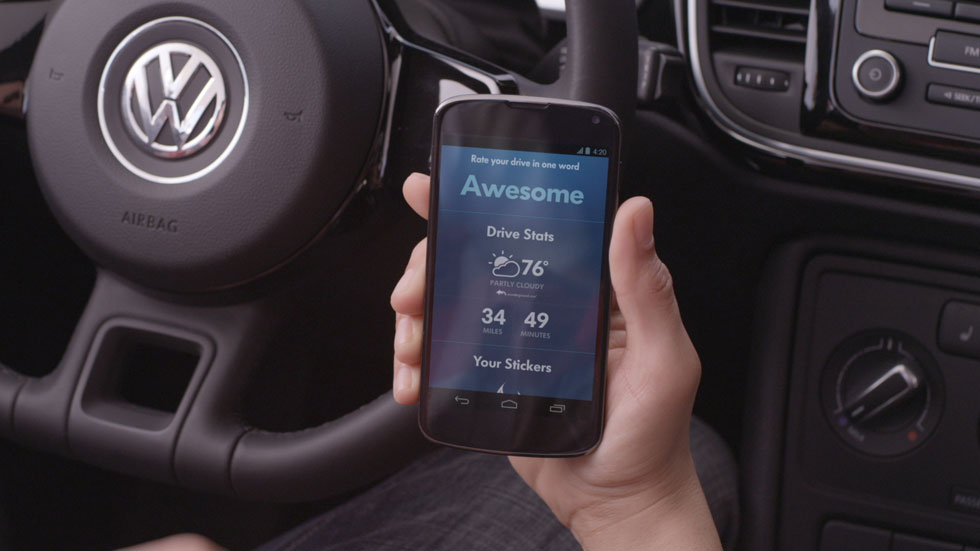 Volkswagen y Google hacen más ameno tu viaje con su aplicación SmileDrive
