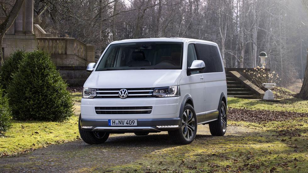 Volkswagen Multivan Alltrack Concept, el monovolumen aventurero