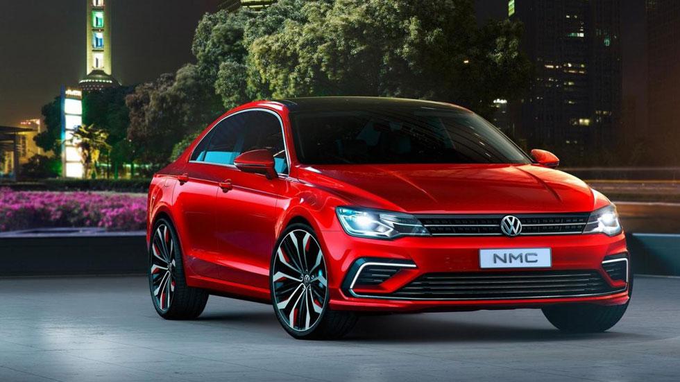 Volkswagen New Midsize Coupé, el Jetta más deportivo