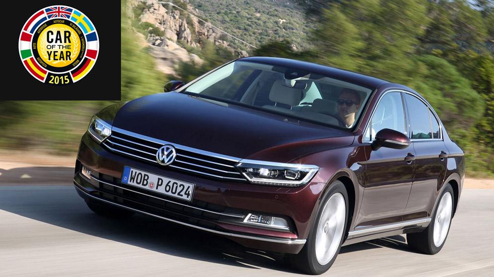 El Volkswagen Passat, ganador del Car of the Year 2015