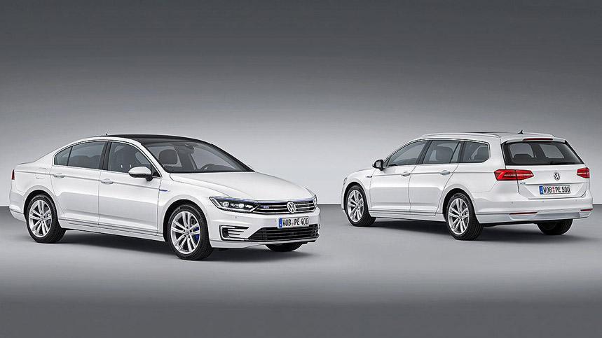 Volkswagen Passat GTE, el Passat se hace híbrido enchufable