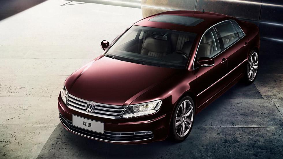 Volkswagen Phaeton, renovación ligera para China