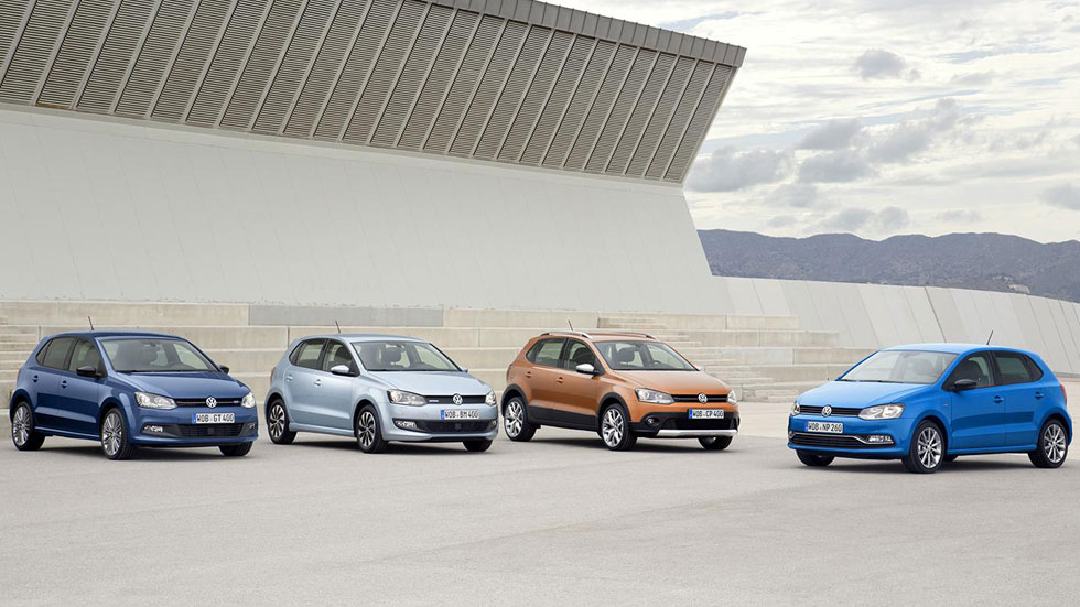 VW Polo 2014: nuevos CrossPolo, BlueMotion y BlueGT