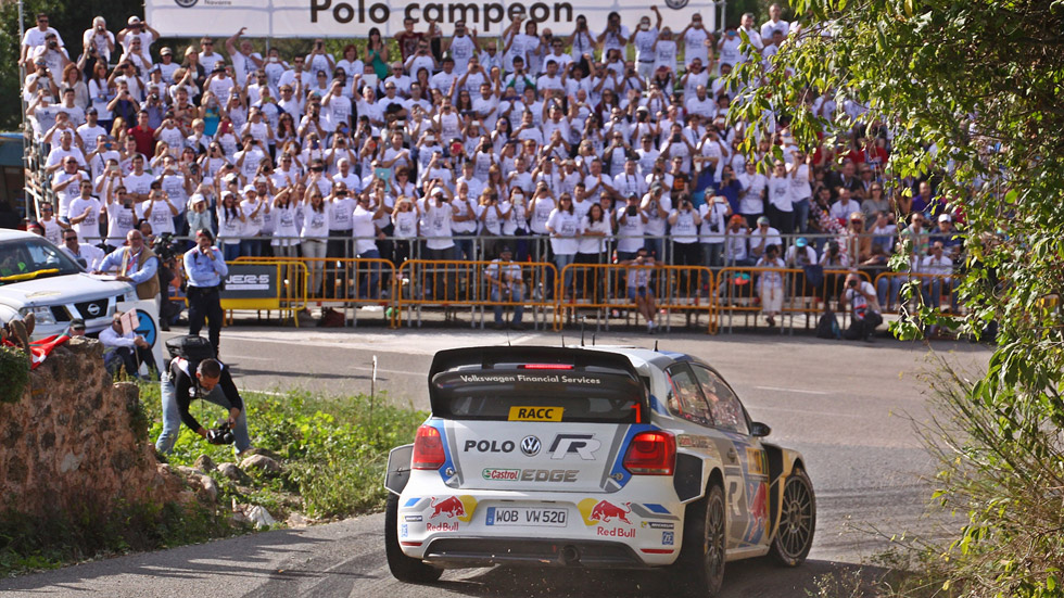 Vídeo: el VW Polo del WRC, un coche campeón 'made in Spain'