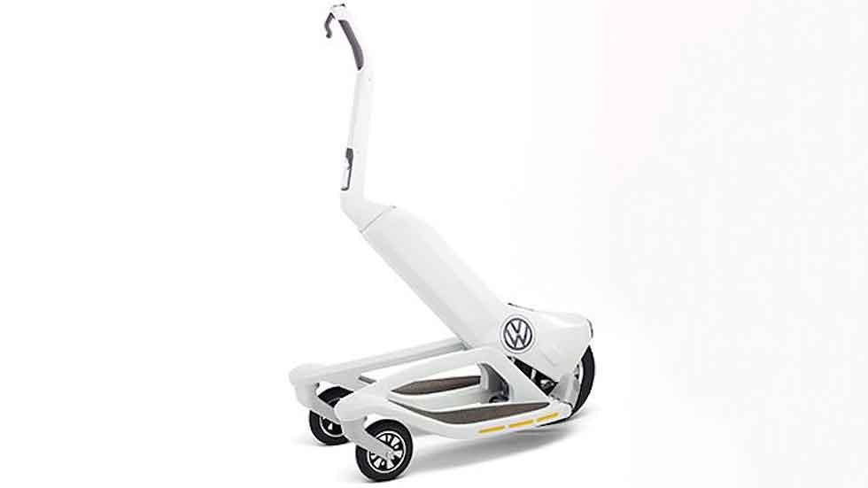 Volkswagen se quiere colar en la movilidad personal con su Segway