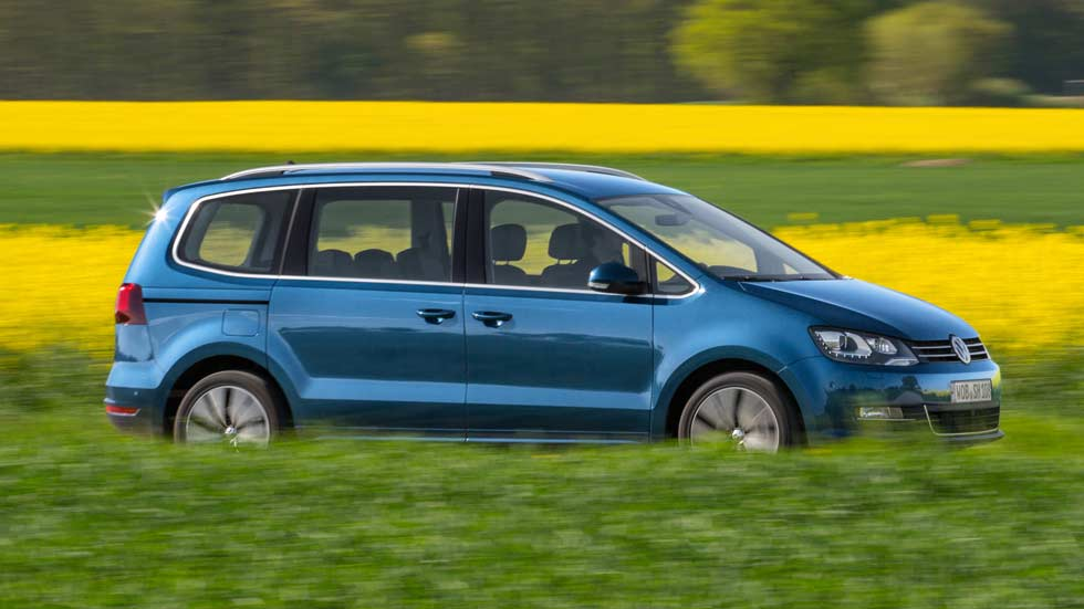 Primera prueba: VW Sharan 2015, más tecnológico y eficiente